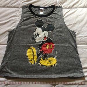Mickey Mouse Disney crop tank